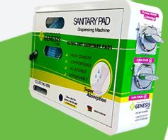 Genesis care pads dispenser picture